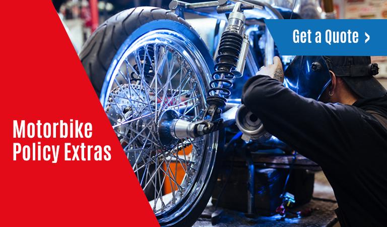 Motorbike Policy Extras