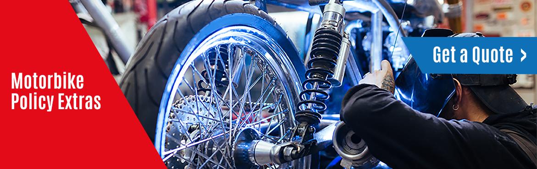 Motorbike olicy Extras